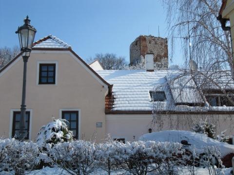 Apartmánek v zimě